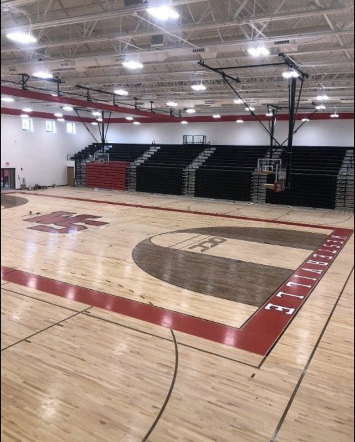 WSHS's new gym