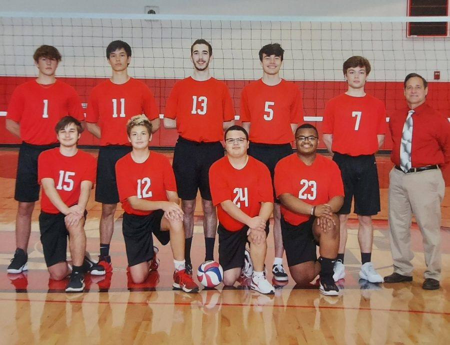 the 2021 boys volleyball team.