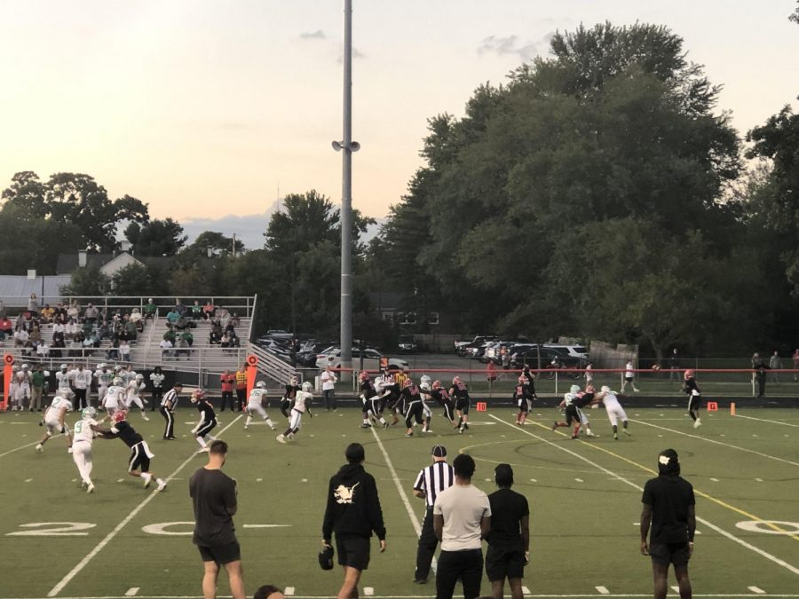 The Wildcat football team faced Dublin Scioto on Friday, September 10th. Dublin Scioto led with the first touchdown, but our Wildcats quickly recovered scoring throughout the 1st and 4th quarter. Westerville South came out on top with a victory leading by 19 points. 41-22